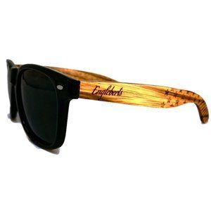 Engleberts Handcrafted Zebrawood Sunglasses - New